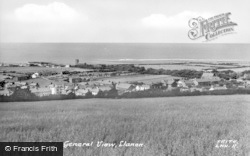 Llanon, General View c.1955