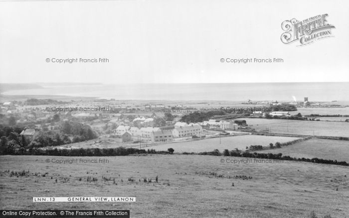 Photo of Llanon, General View c.1955