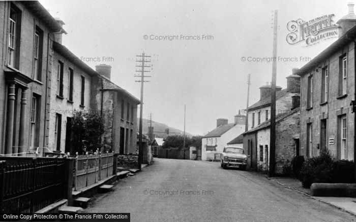Photo of Llanon, Main Road c.1955