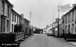 Llanon, Main Road c.1955