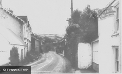 Llanon, Main Road c.1955