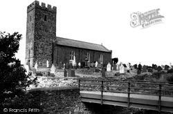 Llanon, St Ffraed's Church c.1955