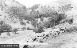 Llanrhaeadr Ym Mochnant, Approach To Pistyll Rhaeadr c.1960