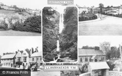 Llanrhaeadr Ym Mochnant, Composite c.1960