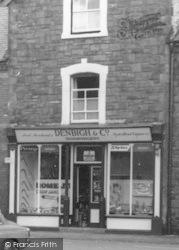 Llanrhaeadr Ym Mochnant, Denbigh & Co Ironmongers c.1960