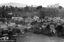 Llanrhaeadr Ym Mochnant, General View c.1950