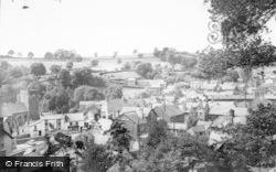 Llanrhaeadr Ym Mochnant, General View c.1960