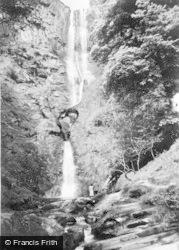 Llanrhaeadr Ym Mochnant, Pistyll Rhaeadr c.1960