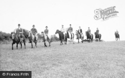 Llanrhaeadr Ym Mochnant, Pony Trekking c.1965