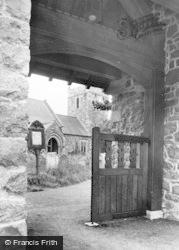 Llanrhaeadr Ym Mochnant, The Lychgate c.1955