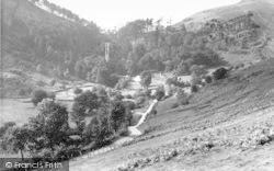 Llanrhaeadr Ym Mochnant, The Mountain Above The Falls c.1960