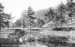 Llanrhaeadr Ym Mochnant, The River, Tanat Valley c.1960