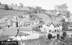 Llanrhaeadr Ym Mochnant, View From Church Tower c.1960