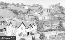 Llanrhaeadr Ym Mochnant, Wynnstay Arms Hotel c.1950