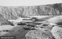 Llanrhian, Traeth Llyfn Bay c.1965