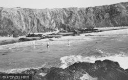 Llanrhian, Traeth Llyfn Beach c.1965