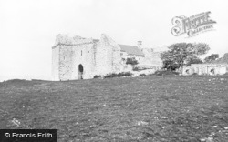 Llanrhidian, Weobley Castle c.1935