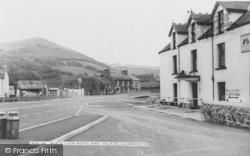 Llanrhystud, Black Lion Hotel And Village c.1960