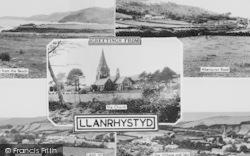 Llanrhystud, Composite c.1960