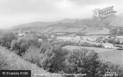 Llanrhystud, General View c.1955