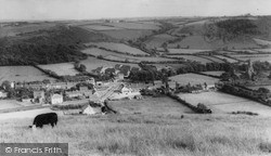 Llanrhystud, General View c.1960