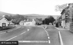 Llanrhystud, Village And Bridge c.1960