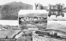 Llanrug, Composite c.1955