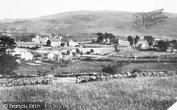Llanrug, General View c.1955