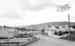 Llanrug, Glanffynnon Road c.1955