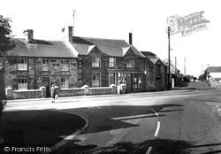 Llanrug, Stores, The Cross Roads c.1955