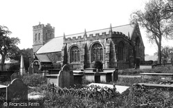 Llanrwst, Church And Gwydies Chapel 1892