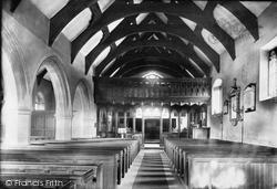 Church Interior 1892, Llanrwst