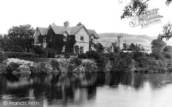 Llanrwst, English Church And Vicarage 1891