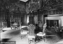 Gwydyr Castle, Drawing Room 1895, Llanrwst