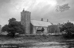 Llanrwst, Parish Church 1952