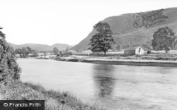 Llanrwst, River Conway And Bridge c.1935