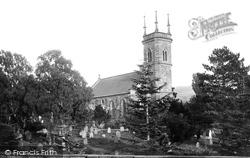 St Mary's Church 1895, Llanrwst