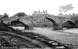 Llanrwst, The Bridge 1895