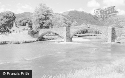 Llanrwst, The Bridge c.1935