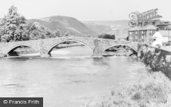 Llanrwst, The Bridge c.1950