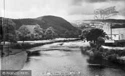 The Conway From Bridge 1961, Llanrwst