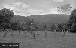 The Druids Circle 1952, Llanrwst