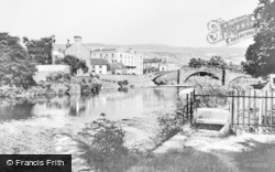 Llanrwst, The River And Bridge c.1950