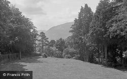 View From Bod Hyfryd Guest House 1936, Llanrwst