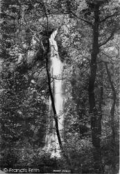 White Mare's Tail Cascade 1895, Llanrwst