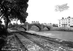 Y Bont Fawr Bridge And The Victoria Hotel 1892, Llanrwst