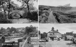 Llansannan, Composite c.1955