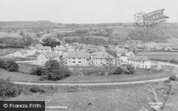 Llansannan, General View c.1955