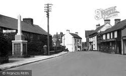 Red Lion Hotel c.1955, Llansannan
