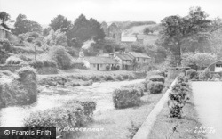 Llansannan, The River c.1955